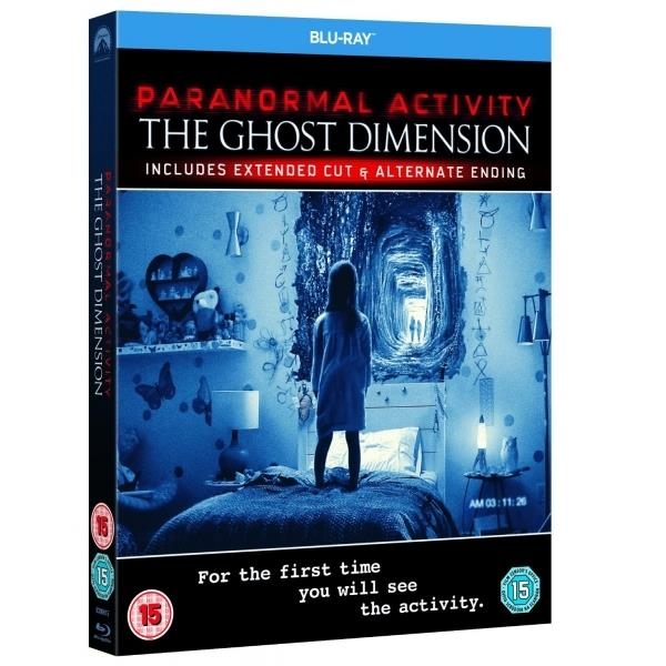 Image of Paranormal Activity: The Ghost Dimension Blu-ray