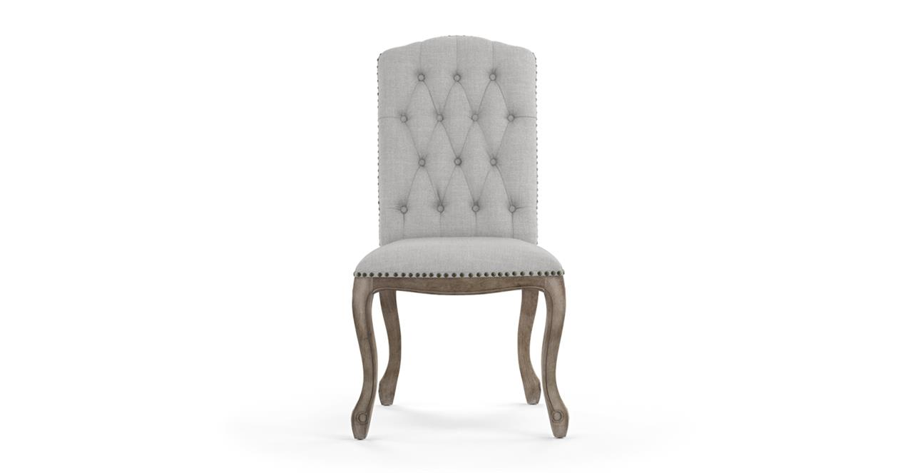 Marie Dining Chair - Cloud Grey
