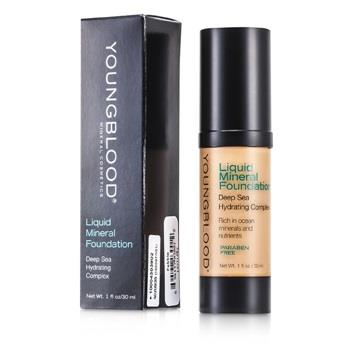 Image of Youngblood Liquid Mineral Foundation Pebble 30ml/1oz Make Up
