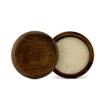 Image of The Art Of Shaving Shaving Soap W/ Bowl Sandalwood Essential Oil For All Skin Types 95g/3.4oz Men's Skincare
