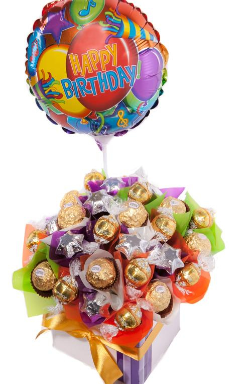 Image of Birthday Wishes - Chocolate Hamper