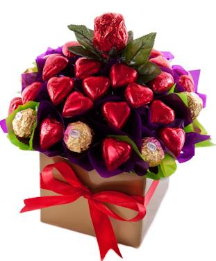 Image of Rose Garden - Chocolate Hamper
