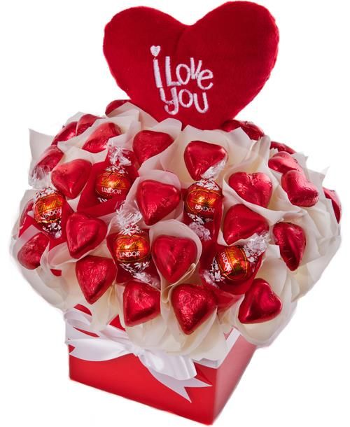 Image of Love Heart - Valentines Hamper