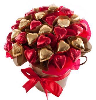 Image of Heart of Gold - Valentines Hamper