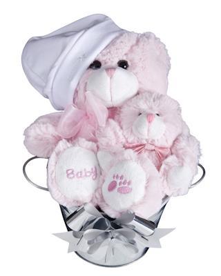 Image of Bub Bucket (Girl) - Baby Hamper