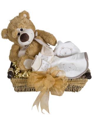 Image of Honey Bear - Baby Hamper