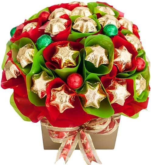 Image of Christmas Tree - Chocolate Hamper