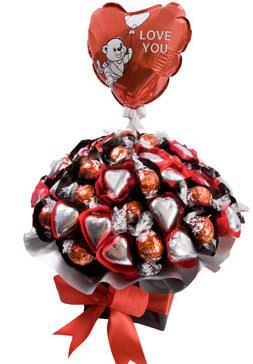 Image of So Loved - Chocolate Arrangement with FREE BALLOON
