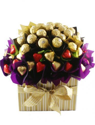Image of Flowers of Ferrero - Easter Gift Hamper