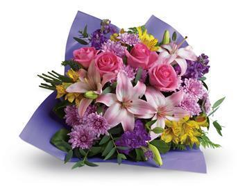 Image of Love and Laughter - Flower Bouquet