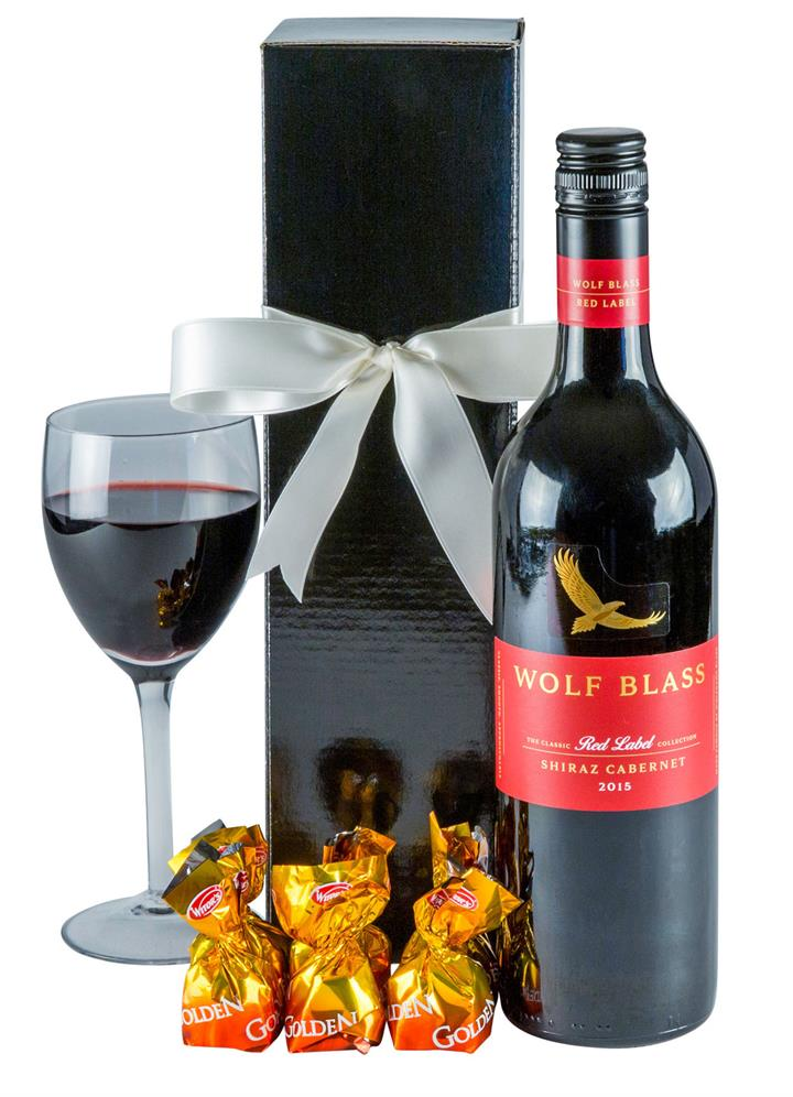 Image of Robust Red - Red Wine Gift Hamper