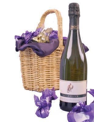 Image of Sparkling Truffles - Wine Gift Hamper