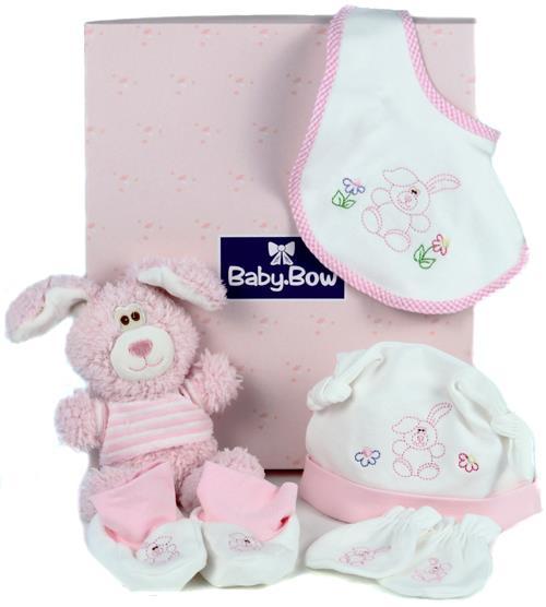 Image of Pink Honey Bunny - Baby Hamper