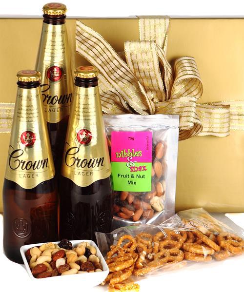 Image of Liquid Gold - Free Chocolate Macadamias - Fathers Day Hamper