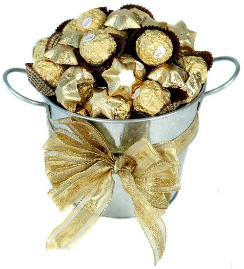 Image of Pot of Gold - Mothers Day Hamper
