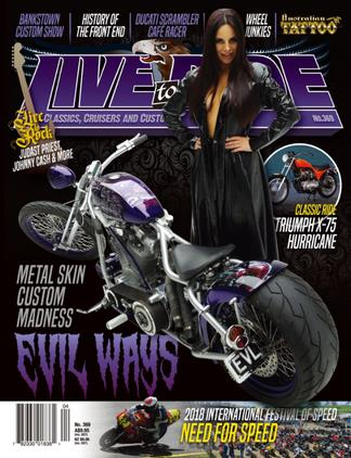 Image of Live To Ride Magazine 12 Month Subscription