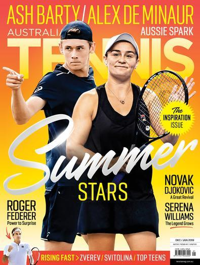 Image of Australian Tennis Magazine 12 Month Subscription
