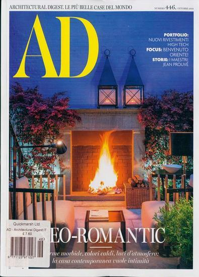 Image of ARCHITECTURAL DIGEST (Italia) Magazine 12 Month Subscription