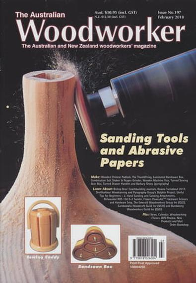 Image of The Australian Woodworker Magazine 12 Month Subscription