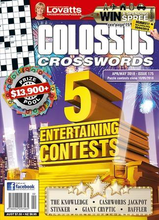 Image of Lovatts Colossus Crosswords Magazine 12 Month Subscription