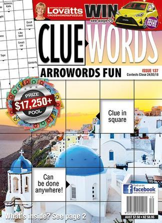 Image of Lovatts Cluewords Magazine 12 Month Subscription