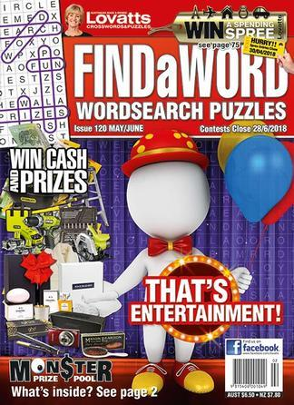 Image of Lovatts FindaWord Magazine 12 Month Subscription
