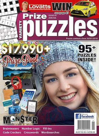 Lovatts Variety Prize Puzzles